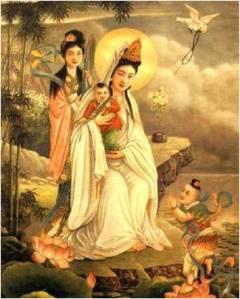 Kuan Yin Picture Compassion Ritual